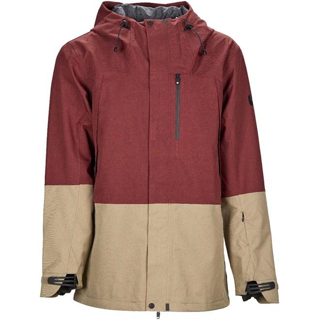 bunda BONFIRE - Control Stretch Jacket Burgundy -Khaki (BUR)