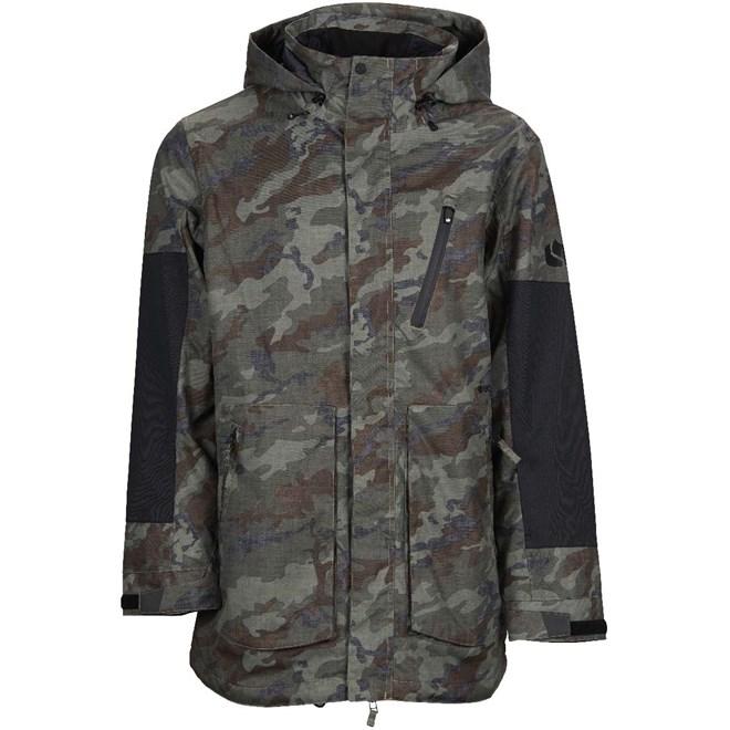 bunda BONFIRE - Strata Jacket Insulated Olive Camo-Black (OLC)