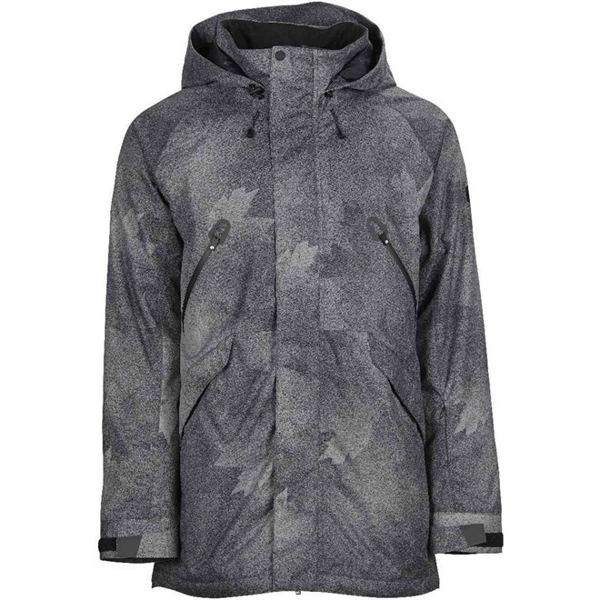 bunda BONFIRE - Static Jacket Charcoal Maple (CHA)