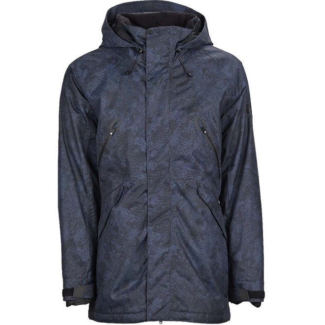 bunda BONFIRE - Static Jacket Indigo Granite (IND)