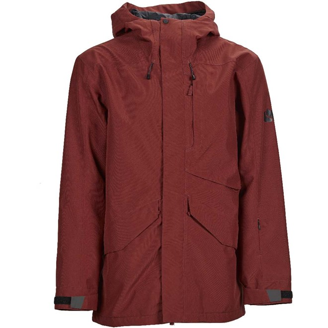 bunda BONFIRE - Vector Jacket Insulated Burgundy (BUR)