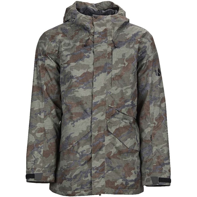 bunda BONFIRE - Vector Jacket Insulated Olive Camo (OLV)