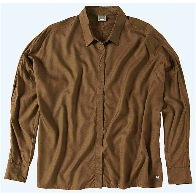 košile BENCH - Aristocratic B Dark Brown (KH023)