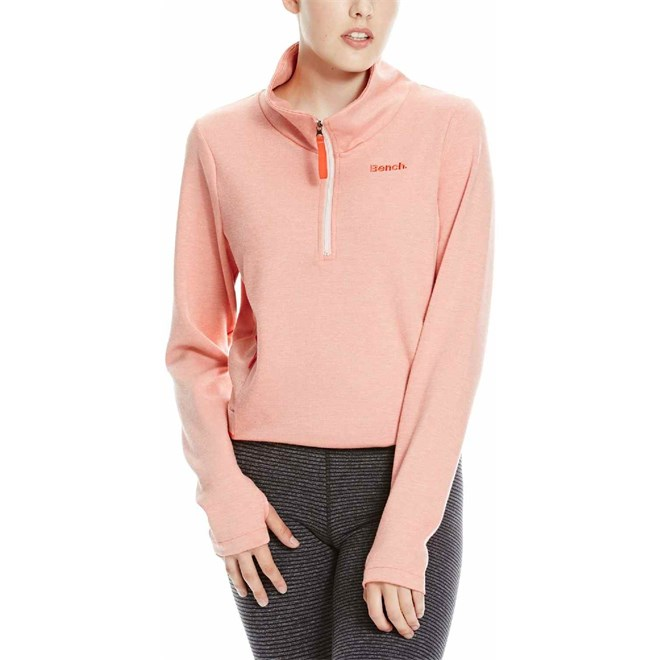 mikina BENCH - Heavy Top Coral Pink (PK170)