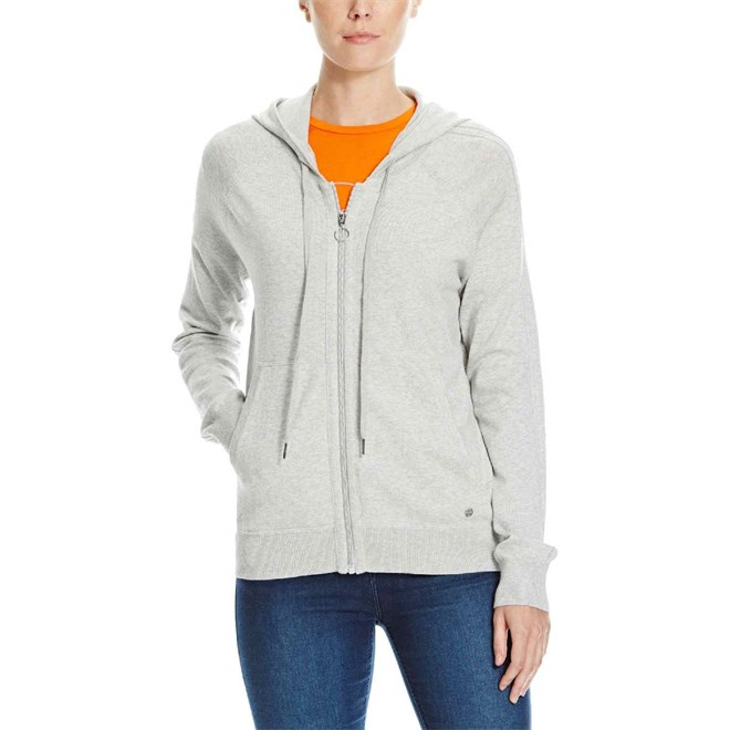 mikina BENCH - Hooded Jacket Raglan Summer Grey Marl (GY171X)