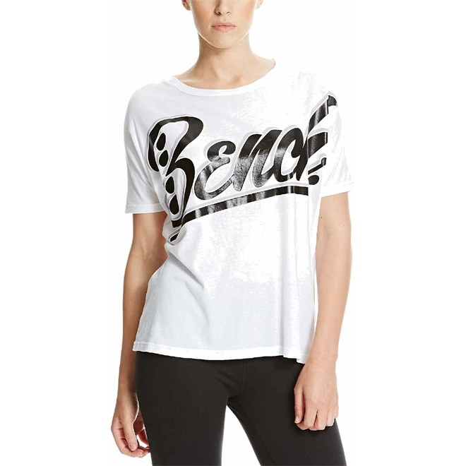 triko BENCH - Oversized Graphic Bright White  (WH001)