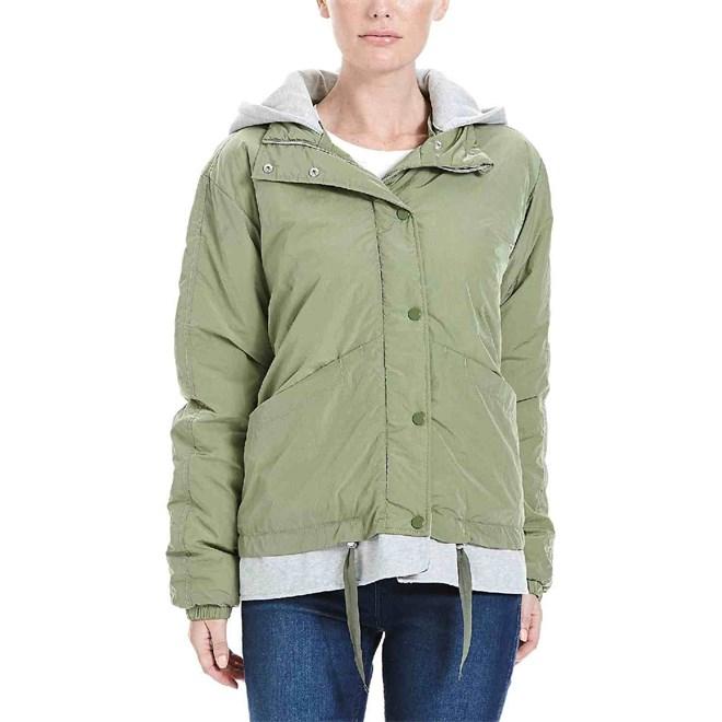 bunda BENCH - Oversized 2 In 1 Jacket Oil Green  (GR064)