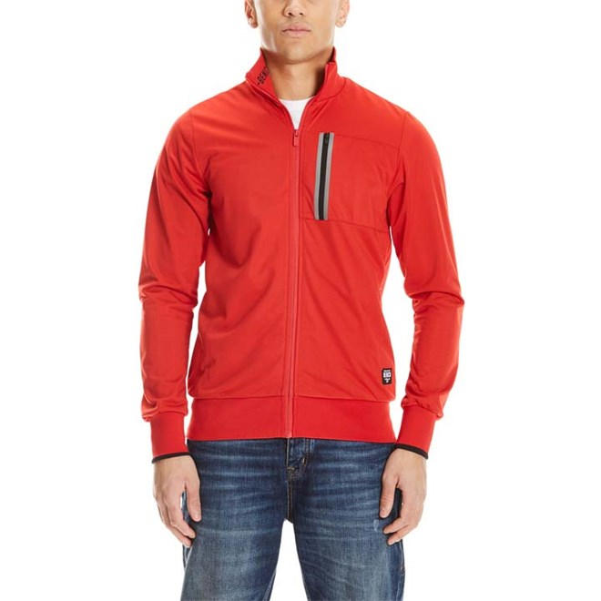 mikina BENCH - Trainerjacket Red (RD012)