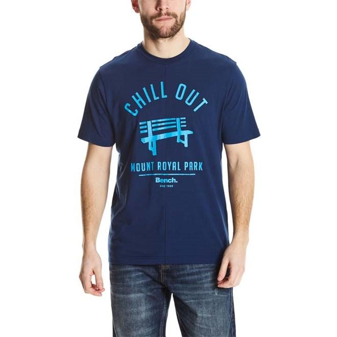 triko BENCH - Cut&Sew Tee Navy Blue (BL063)