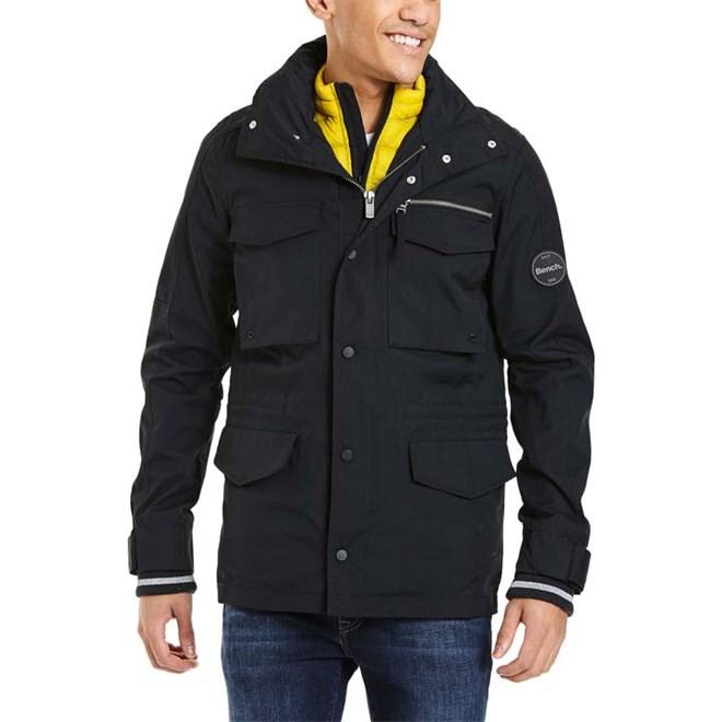 bunda BENCH - Field 3 In 1 Jacket Black Beauty (BK11179)