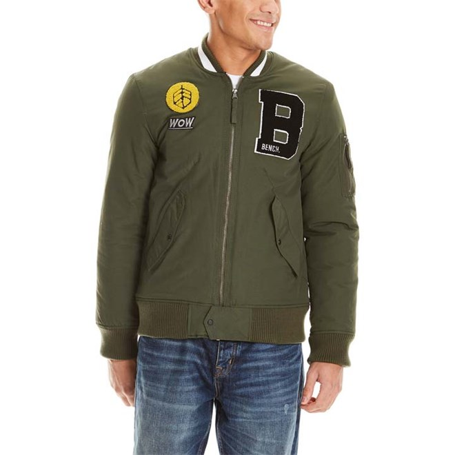bunda BENCH - Badge Bomber Deep Depths (GR11332)