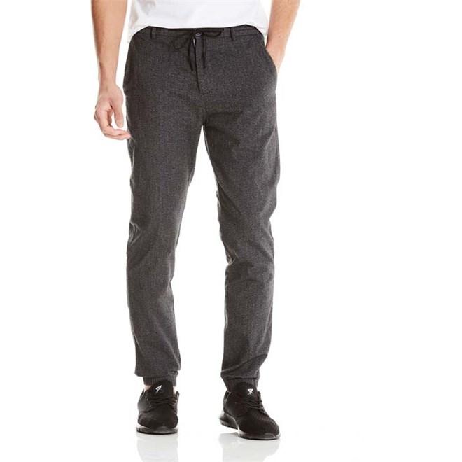 kalhoty BENCH - Wool Look Dark Grey Marl Winter (MA1053)