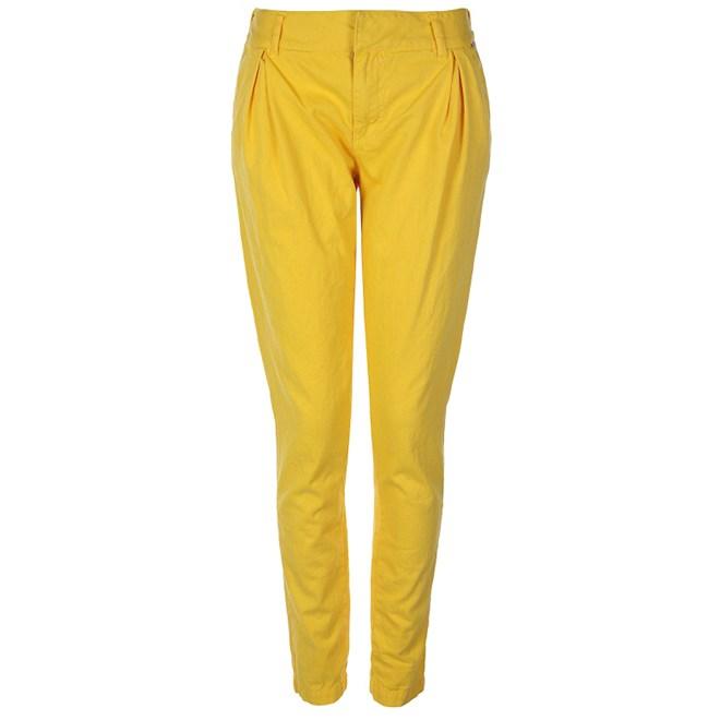 kalhoty BENCH - Straighten Up Yellow (YW054)