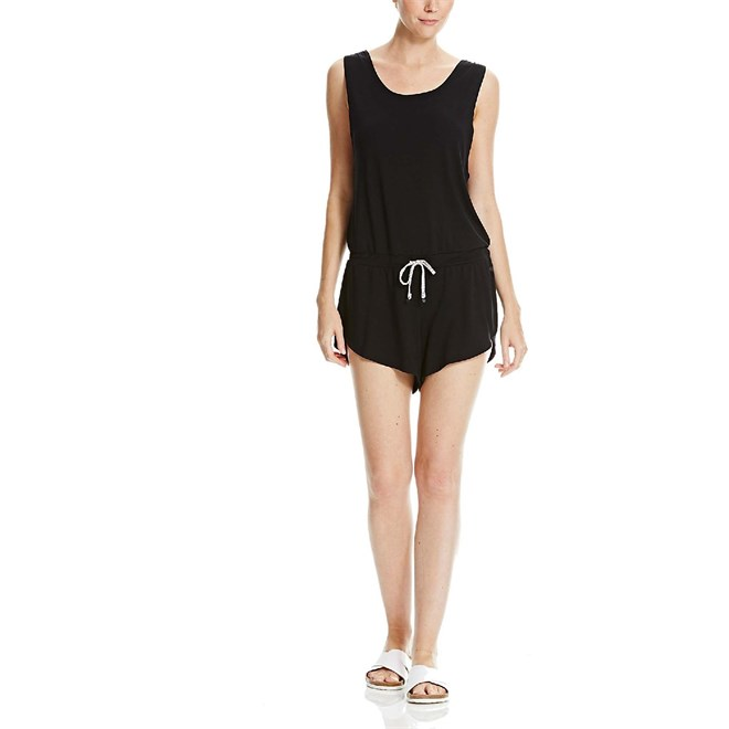 overal BENCH - Straight Playsuit Black Beauty (BK022)