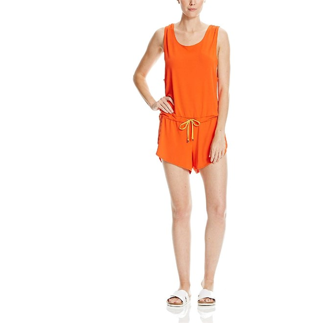 overal BENCH - Straight Playsuit Spicy Orange  (OR058)
