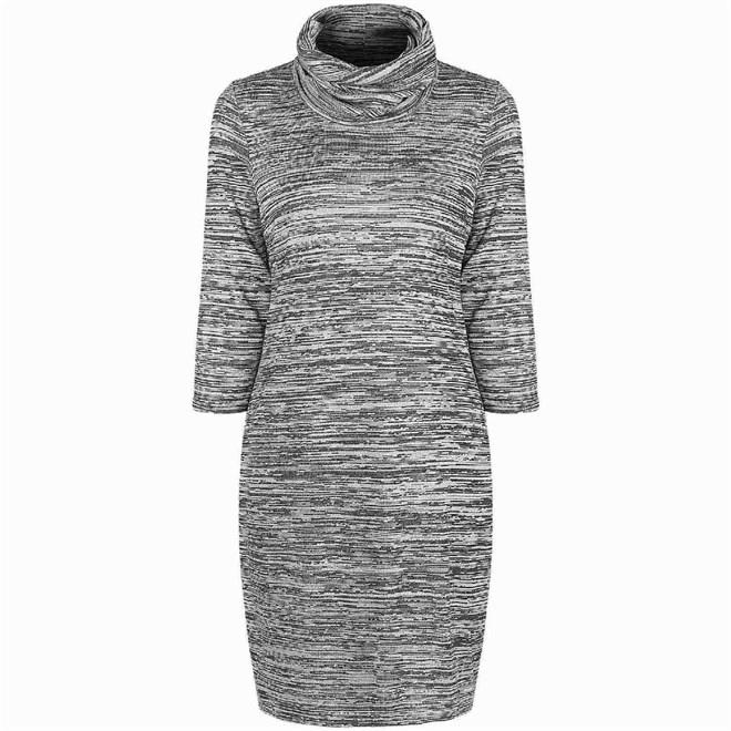šaty BENCH - Nest Dark Grey Marl (GY046X)