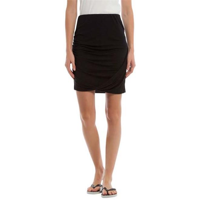 sukně BENCH - Draped Jersey Skirt Black Beauty (BK11179)