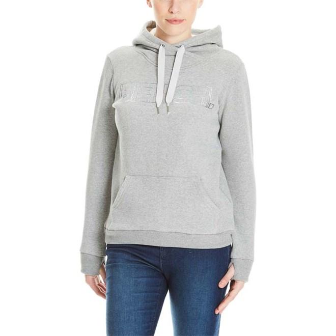 mikina BENCH - Corp Print Hoody Winter Grey Marl (MA1054)