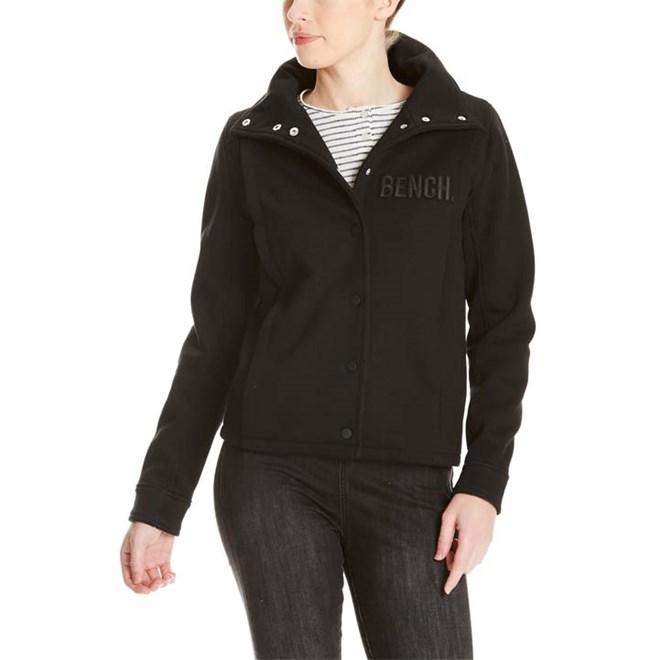 mikina BENCH - Funnel Neopren Jacket Black Beauty (BK11179)