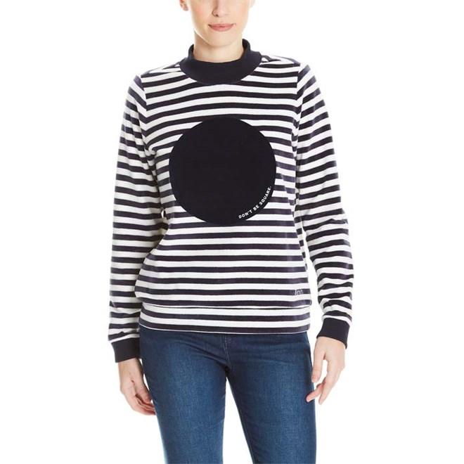 mikina BENCH - Striped Nikki Jumper Stripe Snow White+Essentially  (P1156)