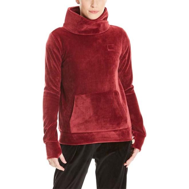 mikina BENCH - Overhead Fleece Funnel Cabernet (RD11343)