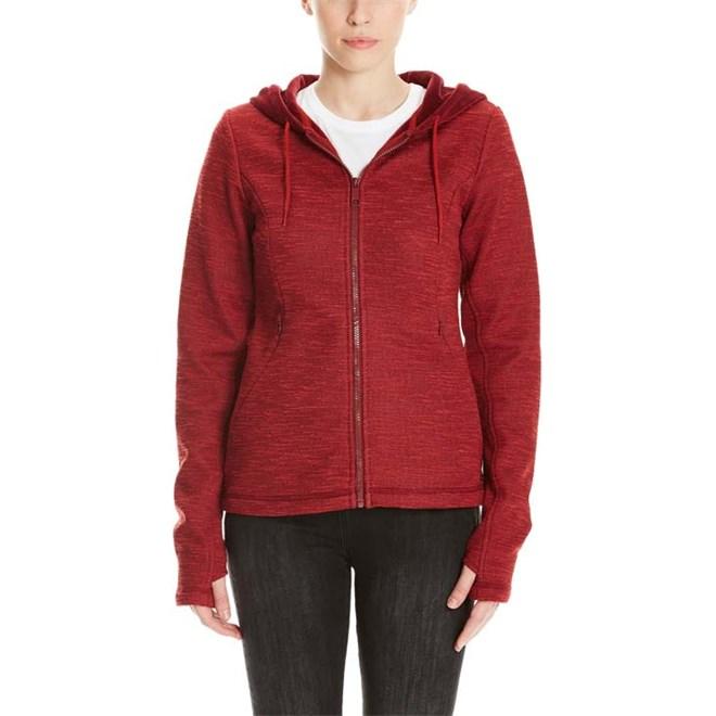 mikina BENCH - Bonded Short Velvet Jacket Cabernet (RD11343)