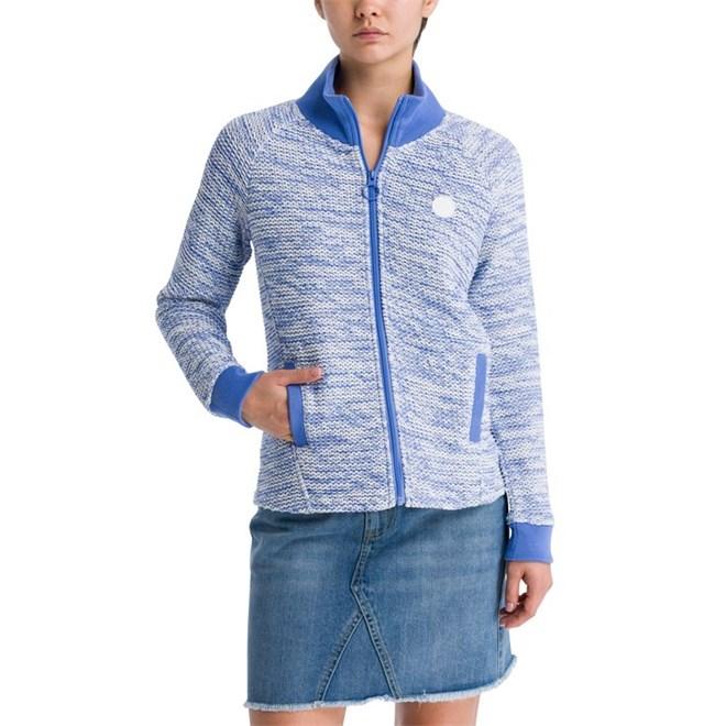 bunda BENCH - Bonded Texture Jacket Wedgewood (BL11464)