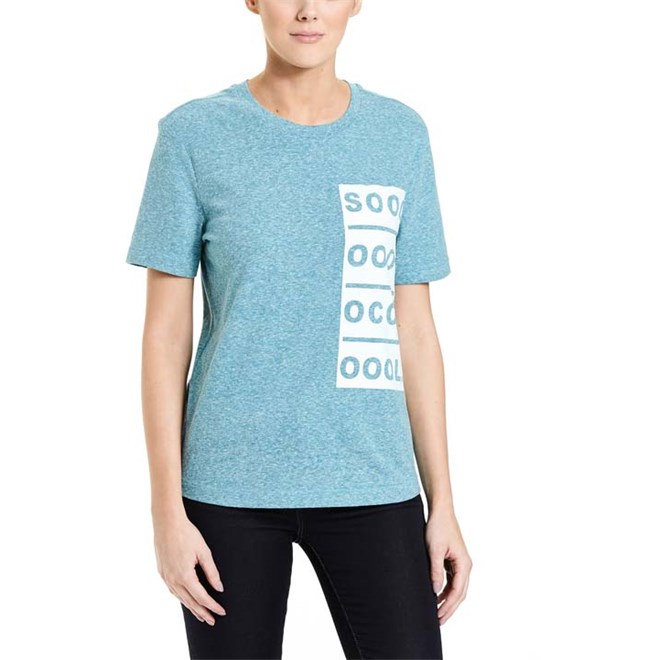 triko BENCH - Badge T-Shirt Fanfare Marl (MA1061)