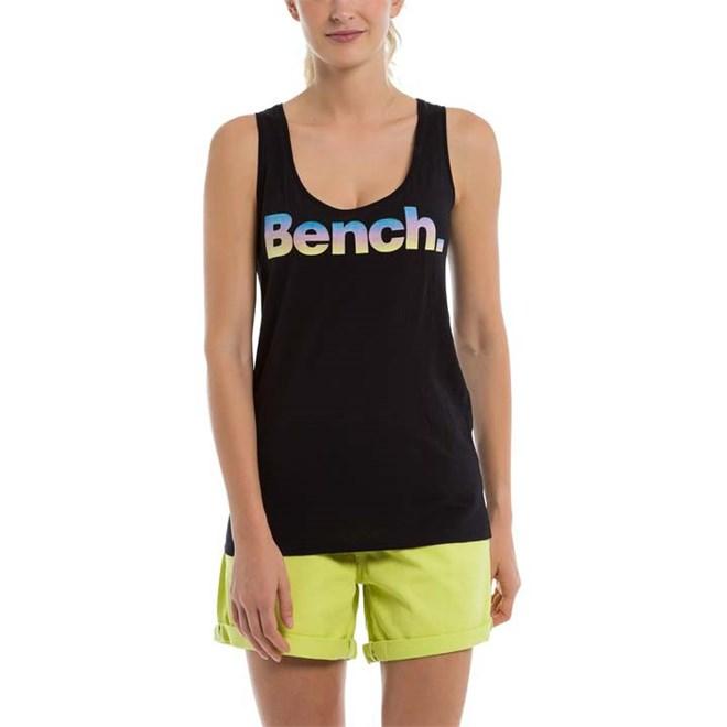 tílko BENCH - Corp Logo Tank Top Black Beauty (BK11179)