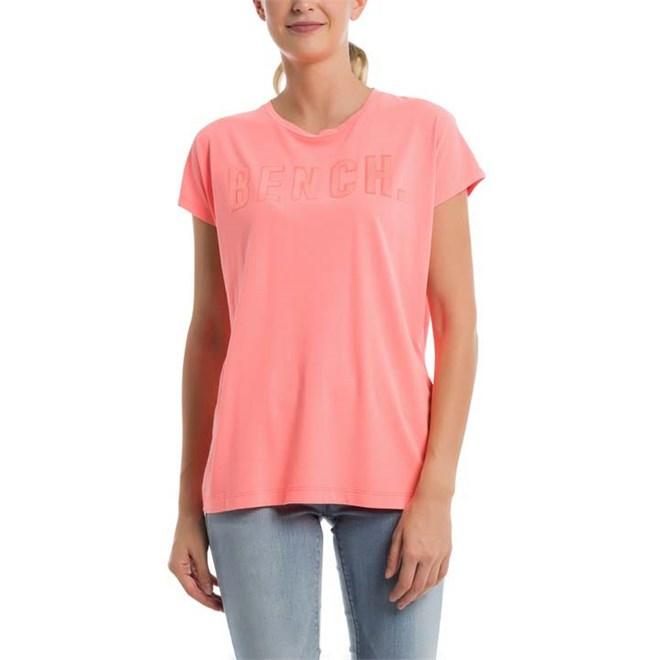 triko BENCH - New Logo Tee Neon Pink (PK11482)