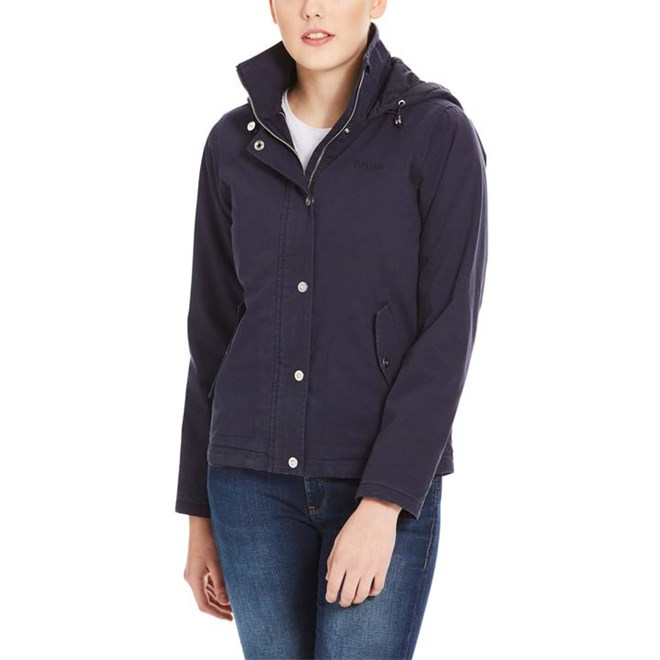 Jacke BENCH - Cotton Jacket With Quilted Hood Essentially Navy (BL11341)