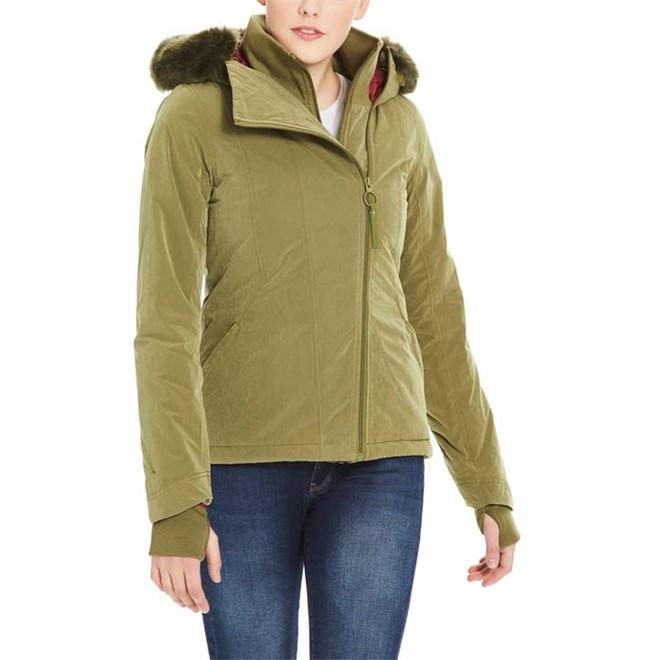 bunda BENCH - Core Asymmetrical Jacket Dark Green (KH006)