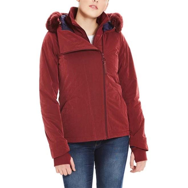 bunda BENCH - Core Asymmetrical Jacket Cabernet (RD11343)
