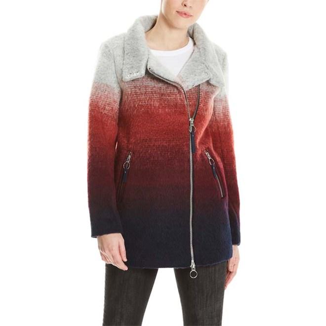 bunda BENCH - Bonded Biker Coat Multicolour Stripe (P1171)