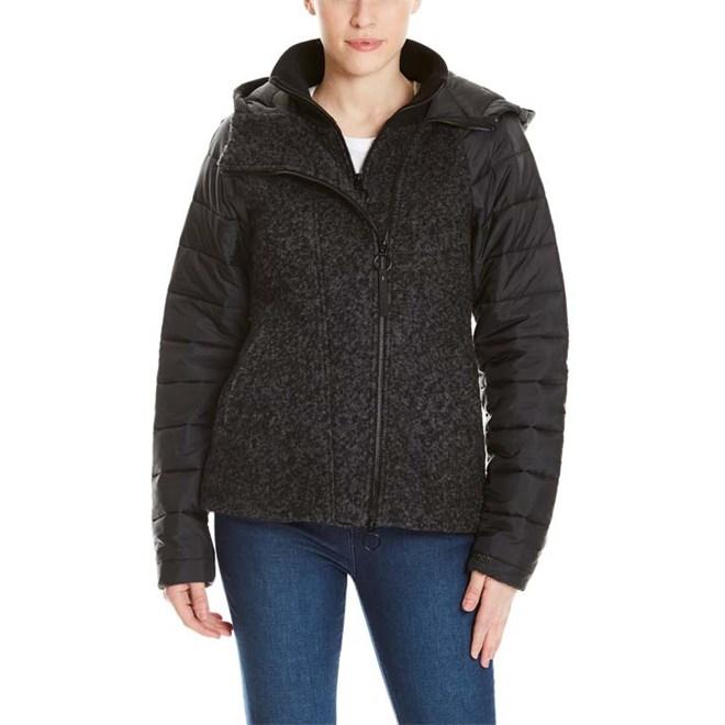 bunda BENCH - Wool Nylon Mix Jacket Black Beauty (BK11179)