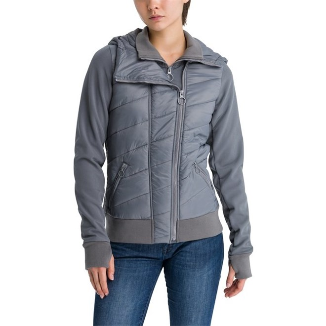 bunda BENCH - Mix N?…Match Jacket Dark Grey (GY149)