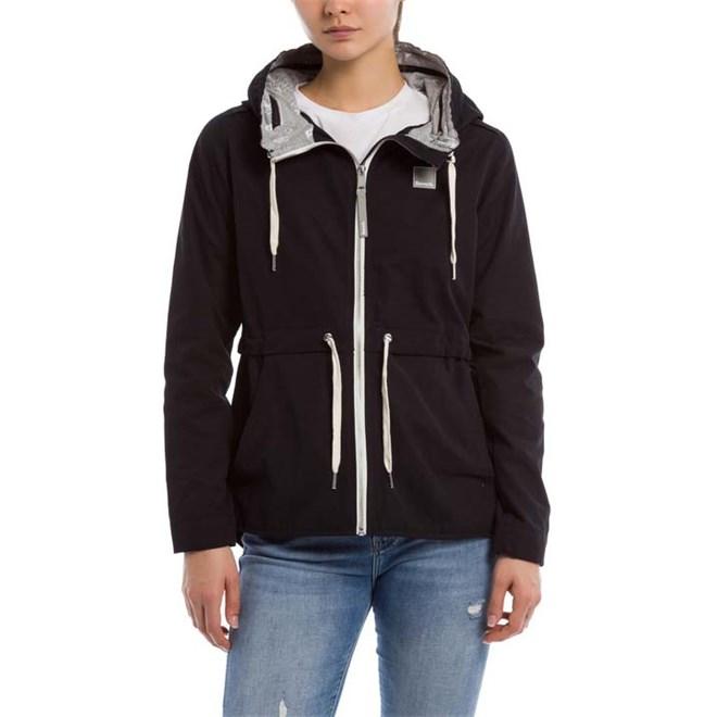 bunda BENCH - Cotton Mix Jacket Black Beauty (BK11179)