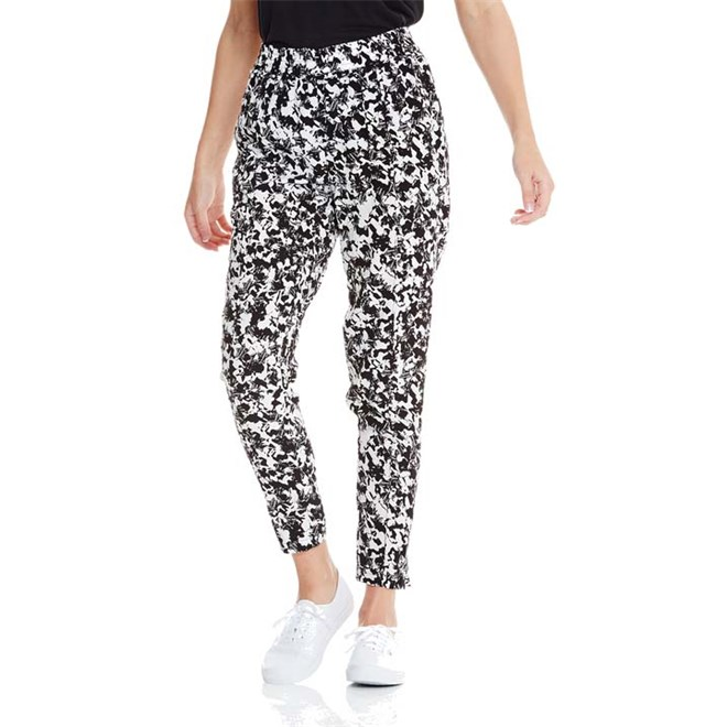 kalhoty BENCH - Trousers Black Beauty Aop (P1001)