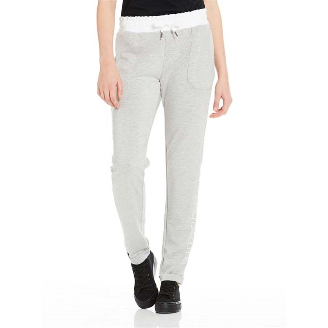 tepláky BENCH - Corp Print Sweat Pant Winter Grey Marl (MA1054)