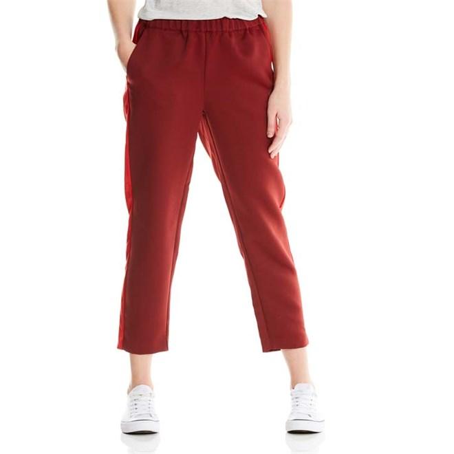 kalhoty BENCH - Track Satin Pant Cabernet (RD11343)