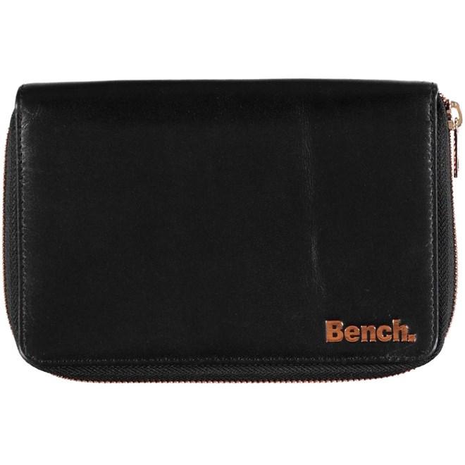 kabelka BENCH - Leather Purce Black (BK022)