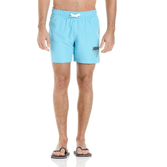 kraťasy BENCH - Shorts Bright Turquoise (BL045)