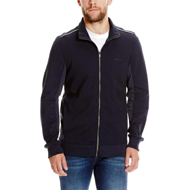 mikina BENCH - Trainer Jacket Dark Navy Blue (NY031)