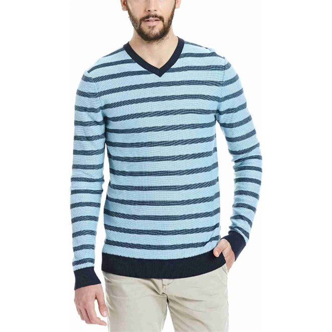 mikina BENCH - Knitwear Dark Navy Blue (NY031)