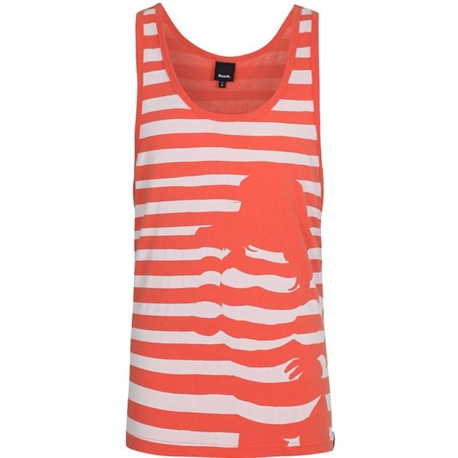 tílko BENCH - Stripey Chick Vest  Orange (OR048)