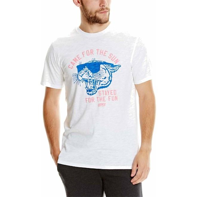 triko BENCH - Graphic Tee Shirt White (WH001)