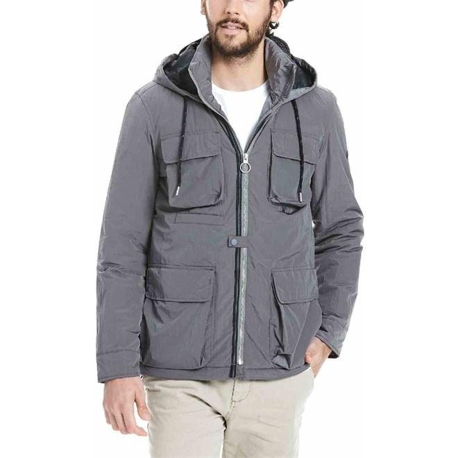 bunda BENCH - Utility Jacket Dark Grey (GY048)