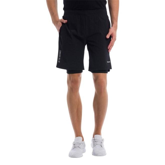 kraťasy BENCH - 2 In 1 Shorts Black Beauty (BK11179)