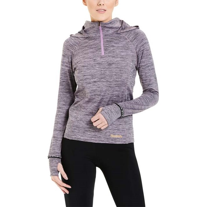 mikina BENCH - Half Zip Hoody Smoky Grape Marl (MA1032)