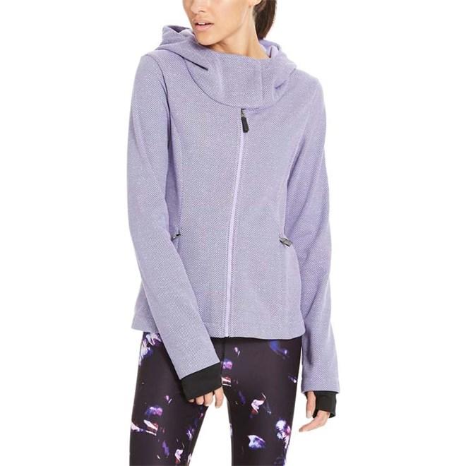 svetr BENCH - Knit Hoody Light Purple (PU132)